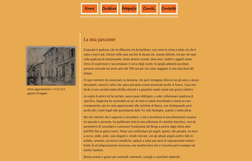 Website www.cartoline-biasca.ch